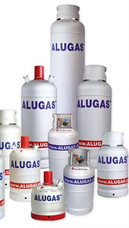 Bouteilles GPL aluminium ALUGAS